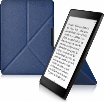 Husa pentru Kobo Aura One Piele ecologica Albastru 39969.17 Huse Tablete