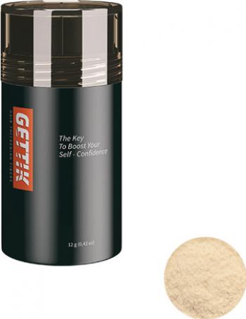 Fibre pentru par rar Gettik pudra blond deschis 12 g Masti, exfoliant, tonice