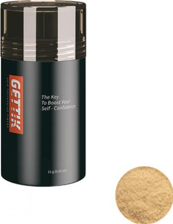 Fibre pentru par rar Gettik pudra blond mediu 12 g Masti, exfoliant, tonice