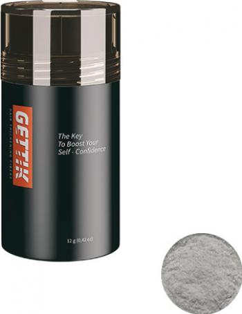 Fibre pentru par rar Gettik pudra gri deschis 12 g Masti, exfoliant, tonice