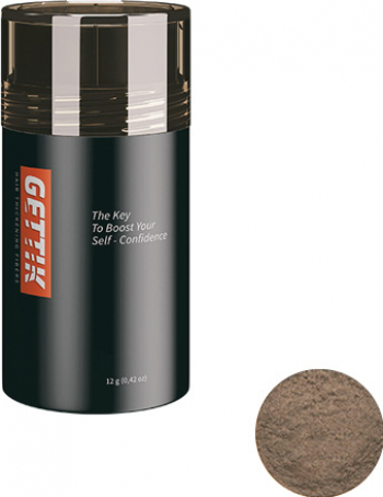 Fibre pentru par rar Gettik pudra saten deschis 12 g Masti, exfoliant, tonice