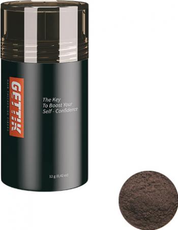 Fibre pentru par rar Gettik pudra saten mediu 12 g Masti, exfoliant, tonice