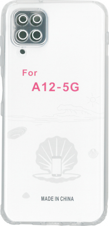 Husa din silicon transparent pentru Samsung Galaxy A12