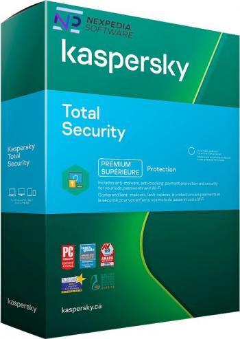 Kaspersky Total Security 2021 - 1 Dispozitiv 1 An Antivirus