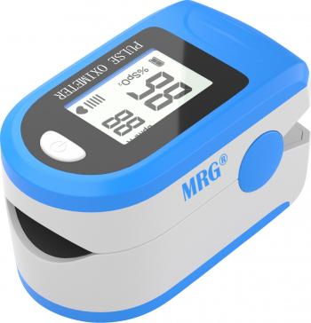 Pulsoximetru MRG M-X1906 Display LCD Pentru deget Alb / Albastru Pulsoximetre