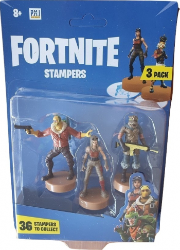 Set 3 x Figurine Fortnite Stampers Raptor Renegade Raider and Battle Hound Papusi figurine si accesorii papusi