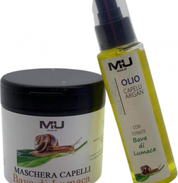 Set masca de par extract de melc+ulei de par cu argan Make-up ten