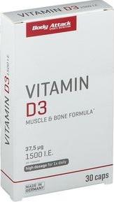 Vitamina D3 - 30 caps Suplimente fitness