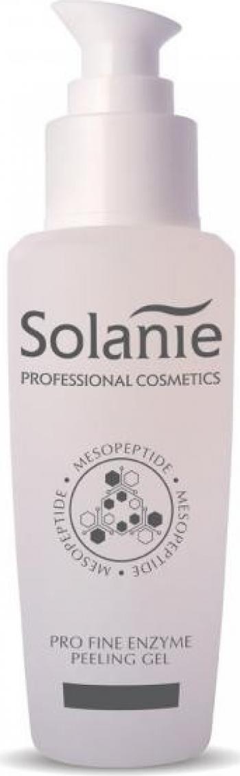 Gel exfoliant Pro Fine Enzyme Peeling Solanie Mesopeptide 125 ml Masti, exfoliant, tonice