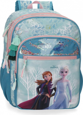 Ghiozdan scoala 42 cm Frozen Find your Strenght Ghiozdane si trolere