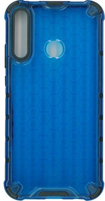 Husa protectie spate anti-shock hexa pentru Huawei Y7p/ P40 lite E albastru