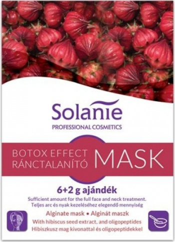 Masca alginata antirid Solanie Botox Effect 8 g