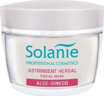 Masca cu sulf Solanie Aloe Ginkgo pentru ten gras 50 ml