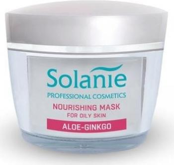 Masca nutritiva pentru ten gras Solanie Aloe Ginkgo 50 ml