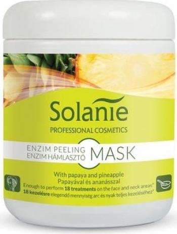 Masca peeling enzimatica pentru 18 tratamente Solanie 90 g