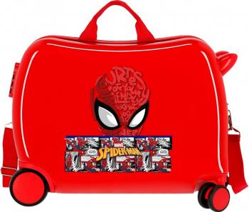 Valiza calatorie ABS 50 cm Spiderman Comic Trolere