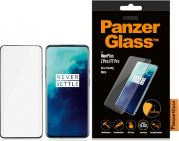 Folie Sticla Panzer pentru OnePlus 7 Pro/7T Pro Negru