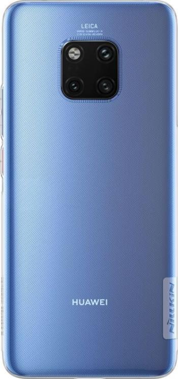 Husa Originala Slim Nillkin Nature Cover Huawei Mate 20 Pro TPU Transparent - Blister Huse Telefoane