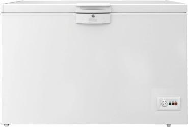 Lada frigorifica Beko HSA29540N 284 l Functie congelare rapida Iluminare LED Alb Lazi si congelatoare