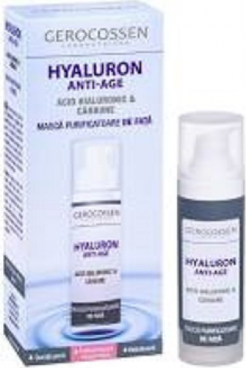 Masca purificatoare de fata Gerocossen Hyaluron Anti-Age - 30 ml