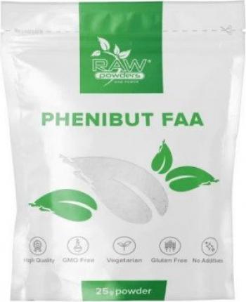 Raw Powders Phenibut FAA 25 grame pentru somn odihnitor relaxare stres nootropic