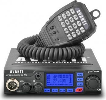Statie radio CB Avanti Primo 20W Alarme auto si Senzori de parcare