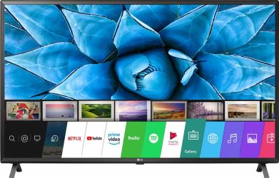 Televizor LG 49UN73003LA LED Smart 123 cm 4K Ultra HD HDR 10 PRO Negru Televizoare