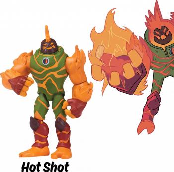Figurina articulata Hot Shot Ben 10 Papusi figurine si accesorii papusi