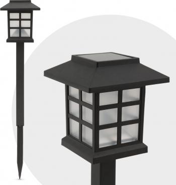 Lampa Solara LED Imitatie Flacara Miscatoare Inaltime 38 cm Corpuri de iluminat