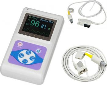 Pulsoximetru profesional Contec CMS60D senzor adulti si senzor pediatric Pulsoximetre