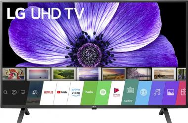 Televizor LG 55UN70003LA Clasa G Diagonala 139 cm LED Smart Ultra HD 4K Negru Televizoare