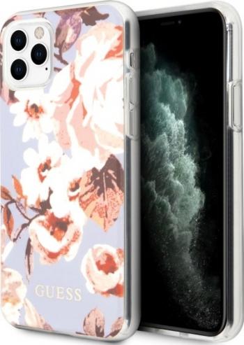 Husa Premium Originala Guess Pentru iPhone 11 Pro Max colectia Flower Model Nr. 2-guhcn65imlfl02 Huse Telefoane