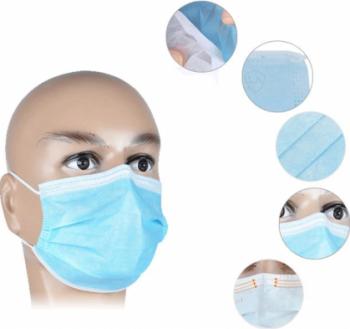 Masca protectie 3straturi unica folosinta 50pscut Scule de gradina