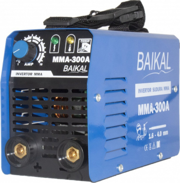 Aparat de sudura tip Invertor Baikal 300 Amp accesorii incluse fara masca de protectie