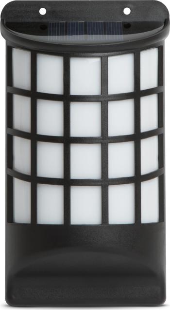Lampa Solara LED de Perete cu Efect de Flacara Miscatoare Dimensiuni 18x10cm Corpuri de iluminat