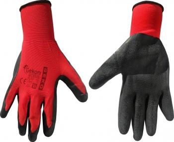 Manusi de protectie marimea 10 Latex rosu Geko G73533 Articole protectia muncii