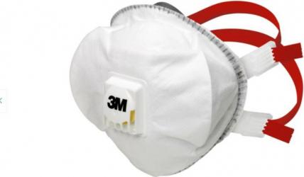 Masca de protectie 8835+ 3M FFP3 cu supapa Masti chirurgicale si reutilizabile