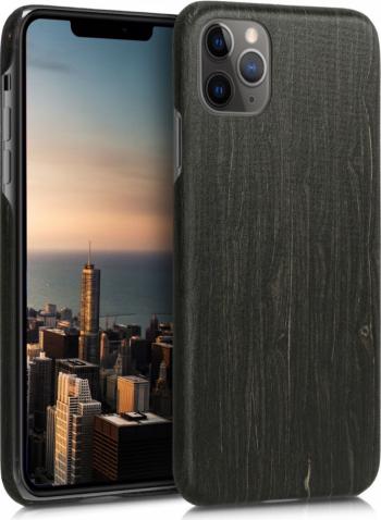 Husa pentru Apple iPhone 11 Pro Max Lemn Negru 49797.47 Huse Telefoane