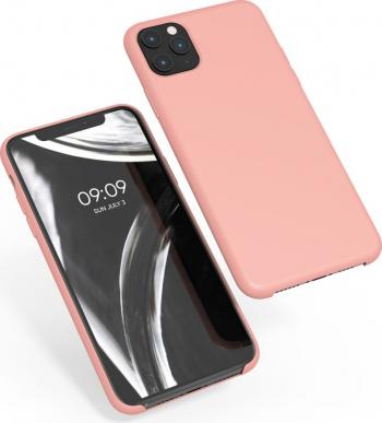 Husa pentru Apple iPhone 11 Pro Max Silicon Roz 49725.199 Huse Telefoane