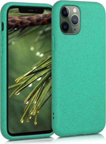 Husa pentru Apple iPhone 11 Pro Max Fibre vegetale Verde 50318.71 Huse Telefoane
