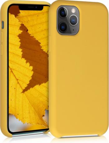 Husa pentru Apple iPhone 11 Pro Silicon Galben 49726.143 Huse Telefoane