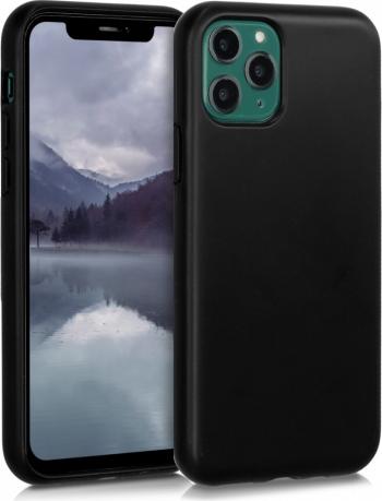 Husa pentru Apple iPhone 11 Pro Fibre vegetale Negru 50316.01 Huse Telefoane