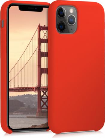 Husa pentru Apple iPhone 11 Pro Silicon Rosu 49726.164 Huse Telefoane