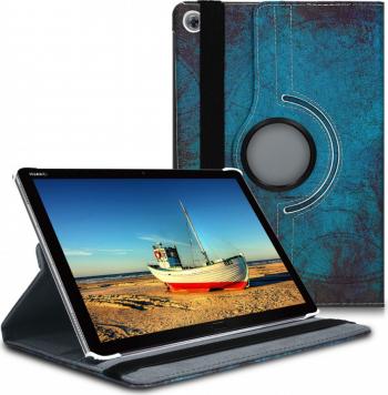 Husa pentru Huawei MediaPad M5 Lite Piele ecologica Multicolor 46226.03