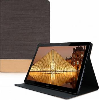 Husa pentru Huawei MediaPad M5 Lite Textil Negru 46119.05