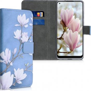 Husa pentru Samsung Galaxy M11 Piele ecologica Albastru 53600.02