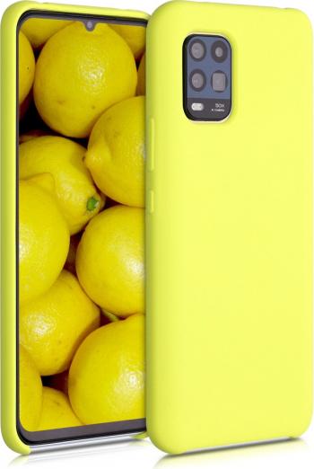 Husa pentru Xiaomi Mi 10 Lite 5G Silicon Galben 52493.49 Huse Telefoane