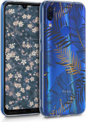 Husa pentru Xiaomi Redmi Note 7  Redmi Note 7 Pro Silicon Gold 48154.11 Huse Telefoane