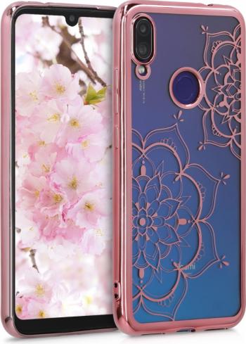 Husa pentru Xiaomi Redmi Note 7  Redmi Note 7 Pro Silicon Rose Gold 49535.03 Huse Telefoane