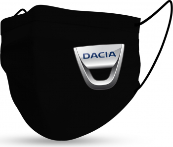 Masca Fashion Reutilizabila Sigla Auto Dacia Accesorii barbati